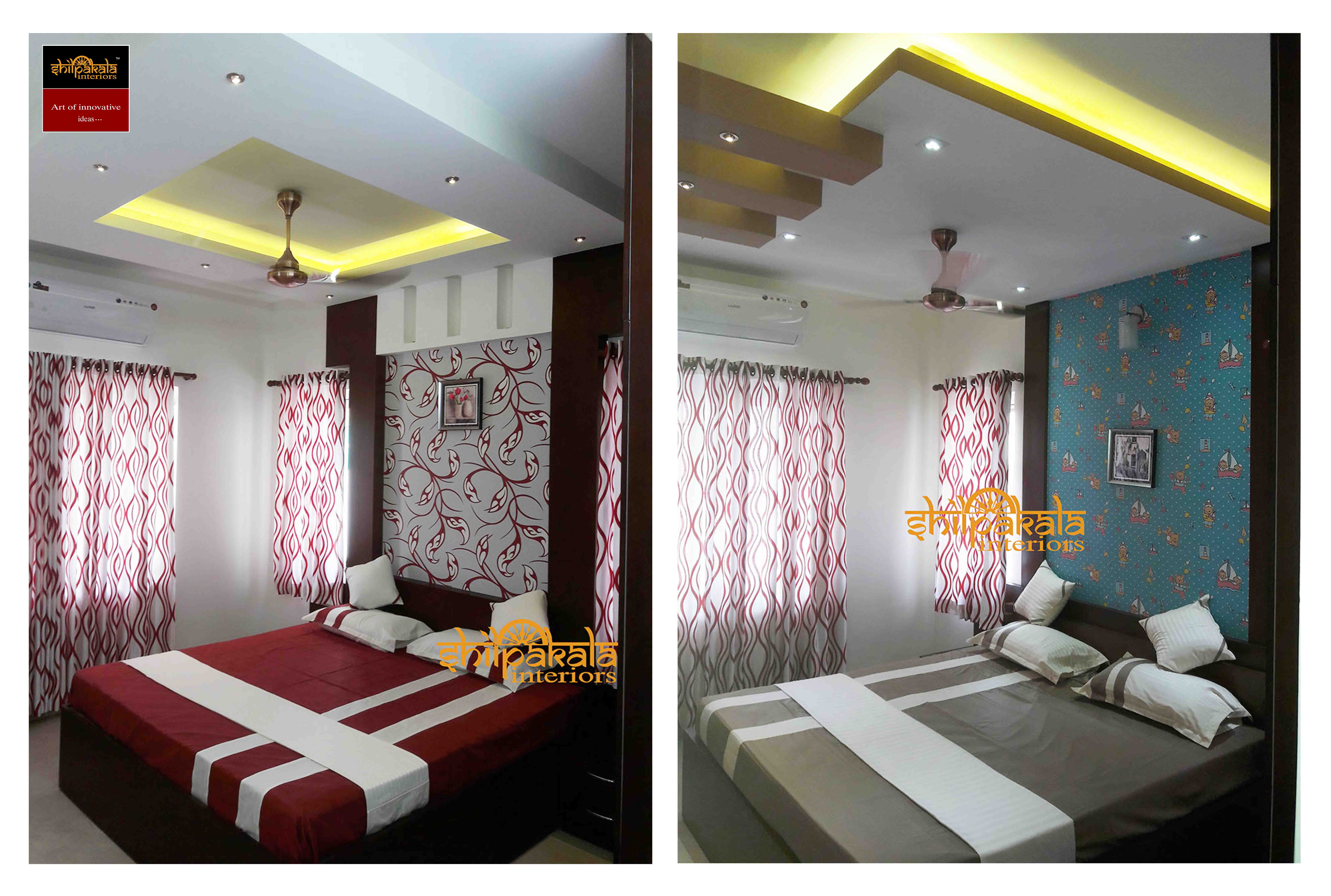 Four Bedroom Interior Design Turn Key Packages For Home Kerala