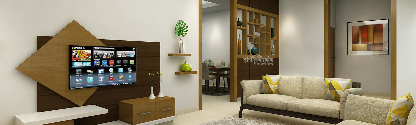 shilpakala home flat interior designers in kerala and thrissur