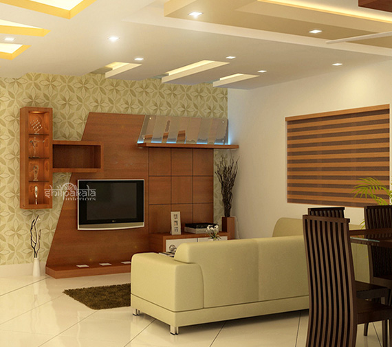 Best Interior Designers In Kerala Flat Home Office Designs