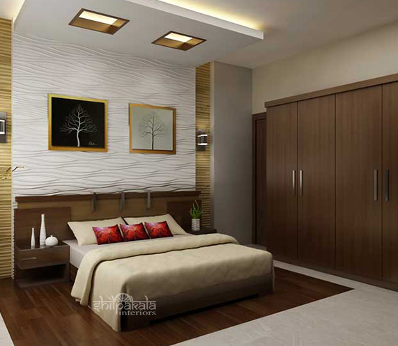 kerala house bedroom interior designers