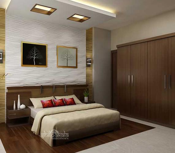 kerala house bedroom interior designers