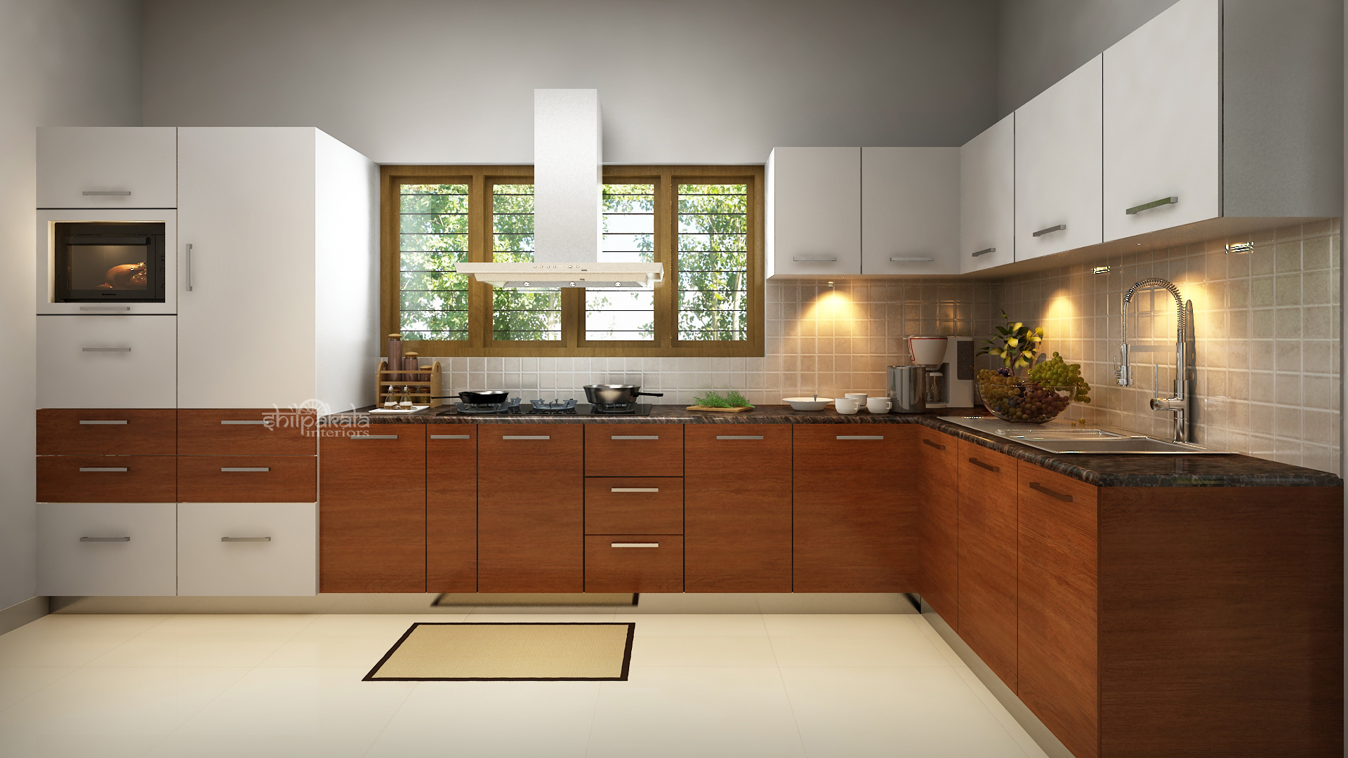 kitchen interior decorating kerala kitchen interior design images gallery 3095