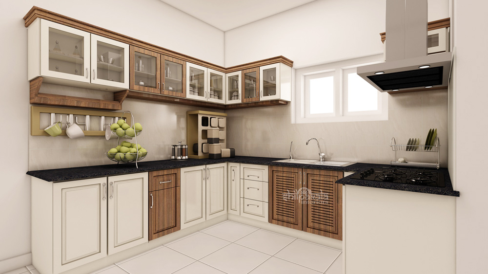 kerala kitchen interior design images gallery. Black Bedroom Furniture Sets. Home Design Ideas