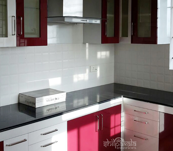 customized modular kitchen design kerala